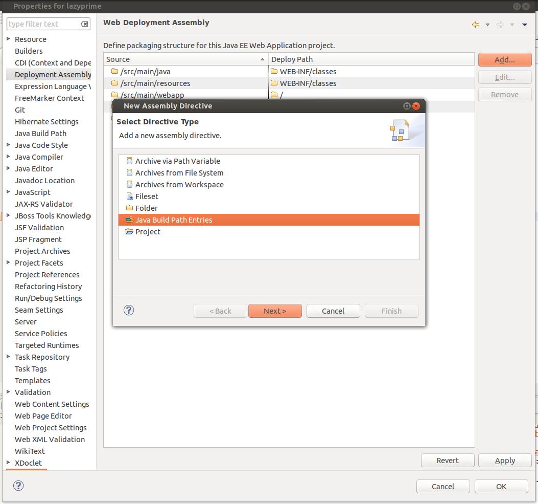 final-add lib to dep assembly